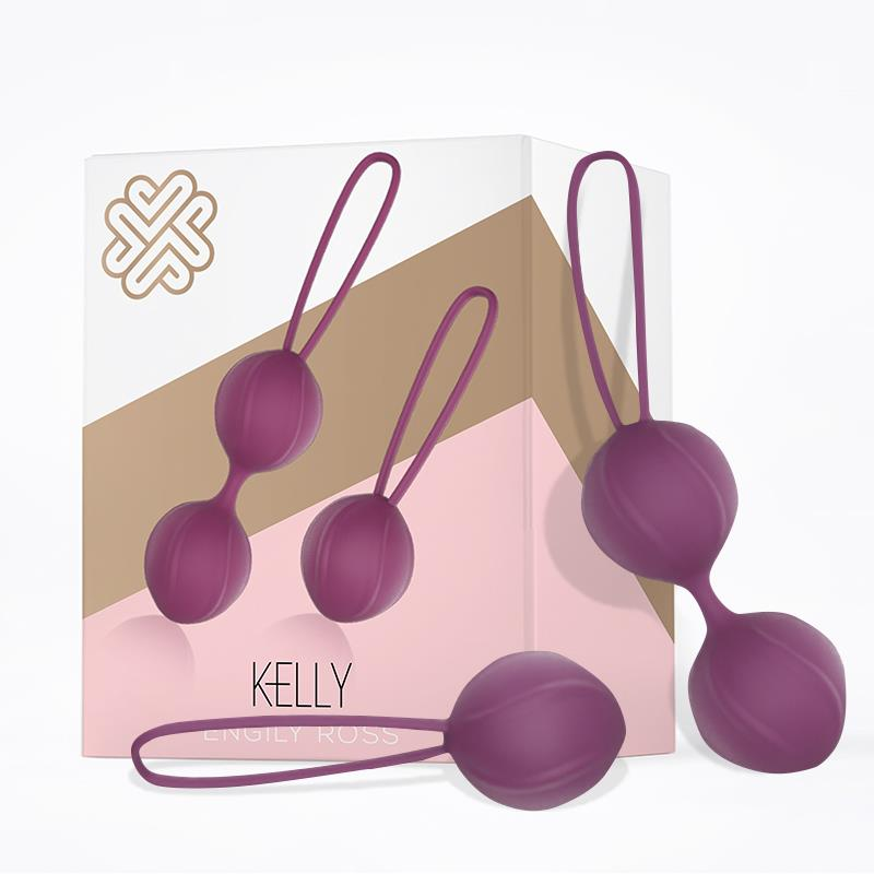 ENGILY ROSS KELLY KEGEL BALLS SZILIKON LILA